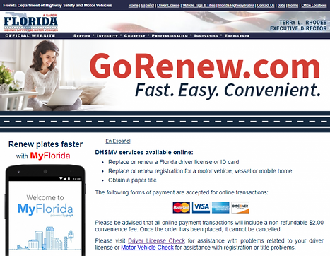 florida drivers license cost renew