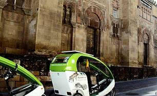 Triciclos turísticos Córdoba Visual Axes