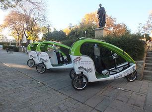 Triciclos turísticos Córdoba LuBan Visua