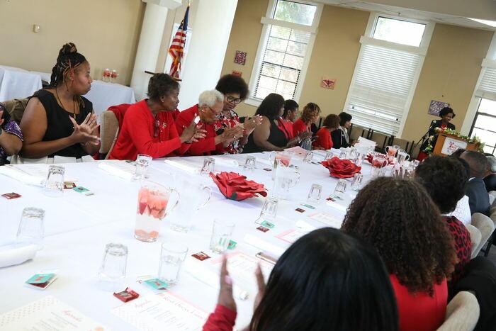 Pretty Red Dress Luncheon