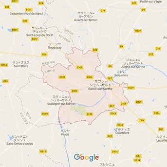 Sablé sur Sarthe / サブレ・スュル・サルト