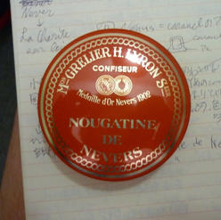 Nougatine de Nevers