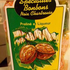 Bonbon de Noix et Chartreuse