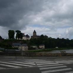 Haute Ville et Eglise Saint Jean Baptist