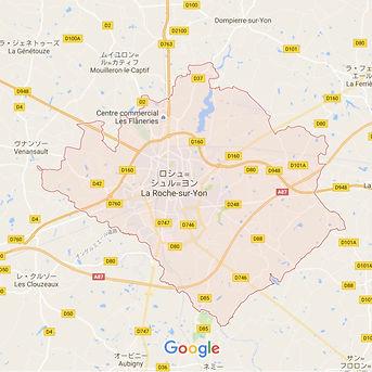 La Roche sur Yon / ラ・ロッシュ・スュル・ヨン