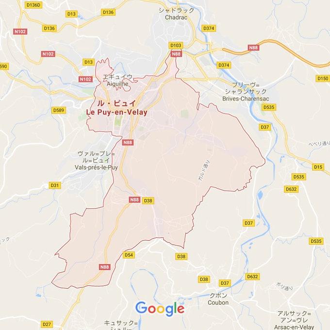 Le Puy en Velay /                   ル・ピュイ・アン・ヴレ