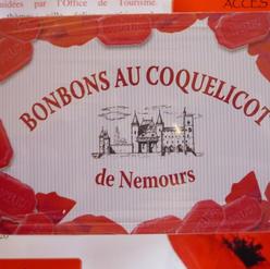 Boîte de Bonbon au Coquelicot de Nemours