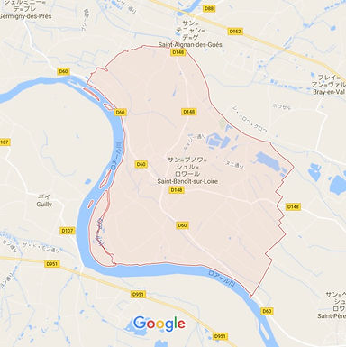 St.Benoît sur Loire / サン・ブノワ・スュール・ロワール