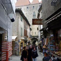 Rue dans la Cité