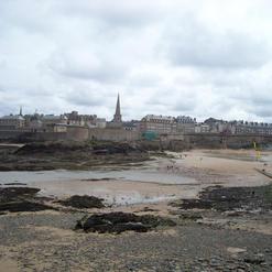 Ville et Remparts depuis la mer