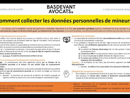 KDS #XIX. Collecter des données personnelles sur les mineurs