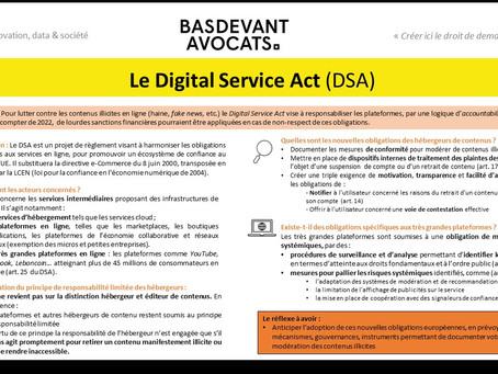 KDS #XX. le Digital Service Act