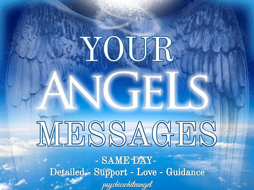 Detailed Angel Messages - Any Topic - Guidance - Support - Direction