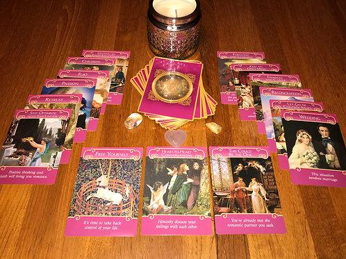 3 Card Romance Angels Psychic Reading