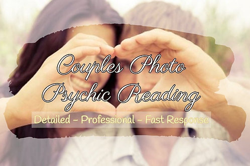 Very Detailed Couples Photo Psychic Reading - Soulmate - Twin Flame - Dating -