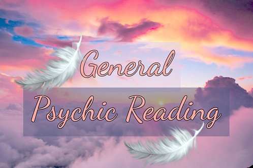 Very Detailed General Psychic Reading