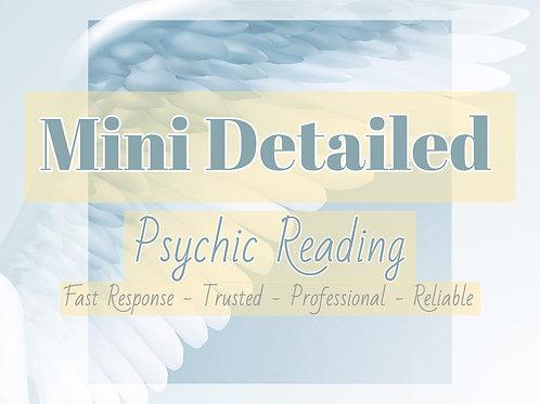 Mini Detailed Psychic Reading