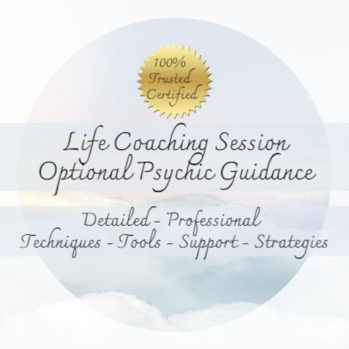 Very Detailed Life Coach Session - URGENT option - Psychic Guidance - Tools -