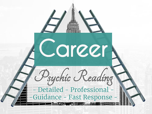Very Detailed Career Psychic Reading - Job - Professional - Guidance -