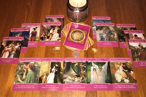5 Card Romance Angels Psychic Reading