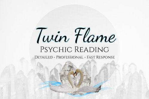 Very Detailed Twin Flame Psychic Reading