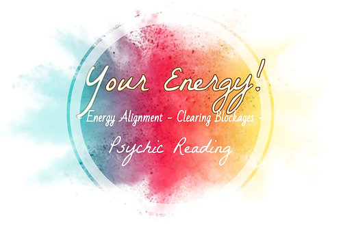 Energy Psychic Reading - Clearing Blockages - Aura - Energy Alignment - Guidance