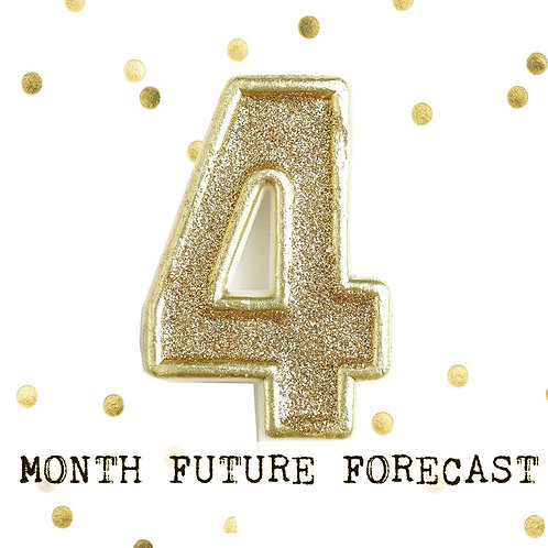 4 Month Future Forecast - Detailed - Psychic Reading