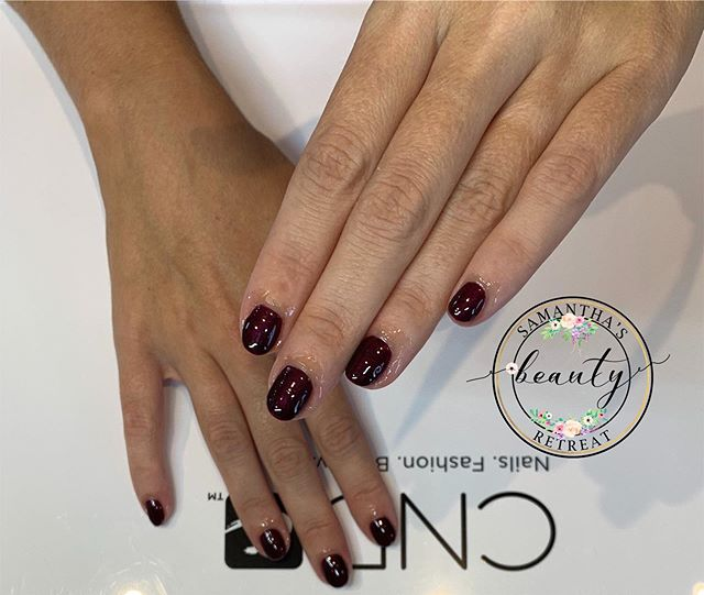 CND Shellac Manicure _Colour •Dark Lava•