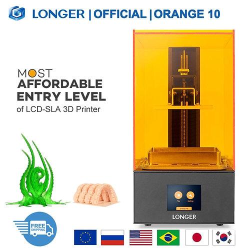 LONGER Orange 10 - LCD LED Fast Cooling Resin 3D Printer