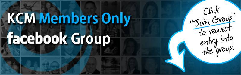 KCM Members Only Facebook Page