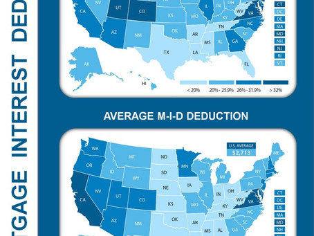 Mortgage Interest Deduction: By State [INFOGRAPHIC]