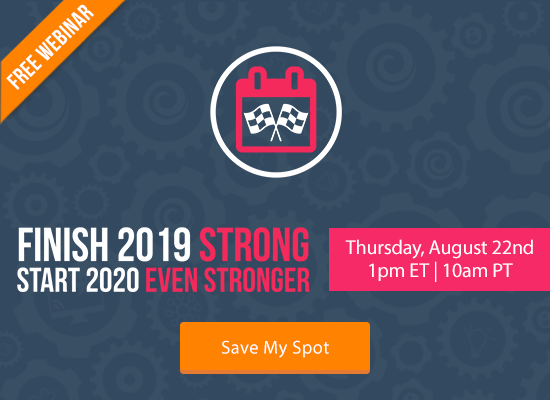 Finish 2019 Strong. Start 2020 Even Stronger. [FREE WEBINAR]   Keeping Current Matters