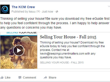 TIP: Sharing Your Buyer & Seller Guides on Facebook
