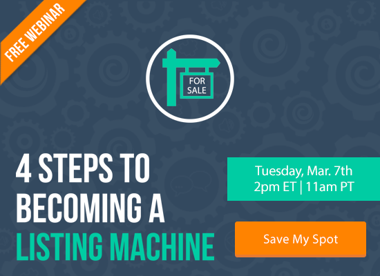 Learn the 4 Steps to Becoming a Listing Machine