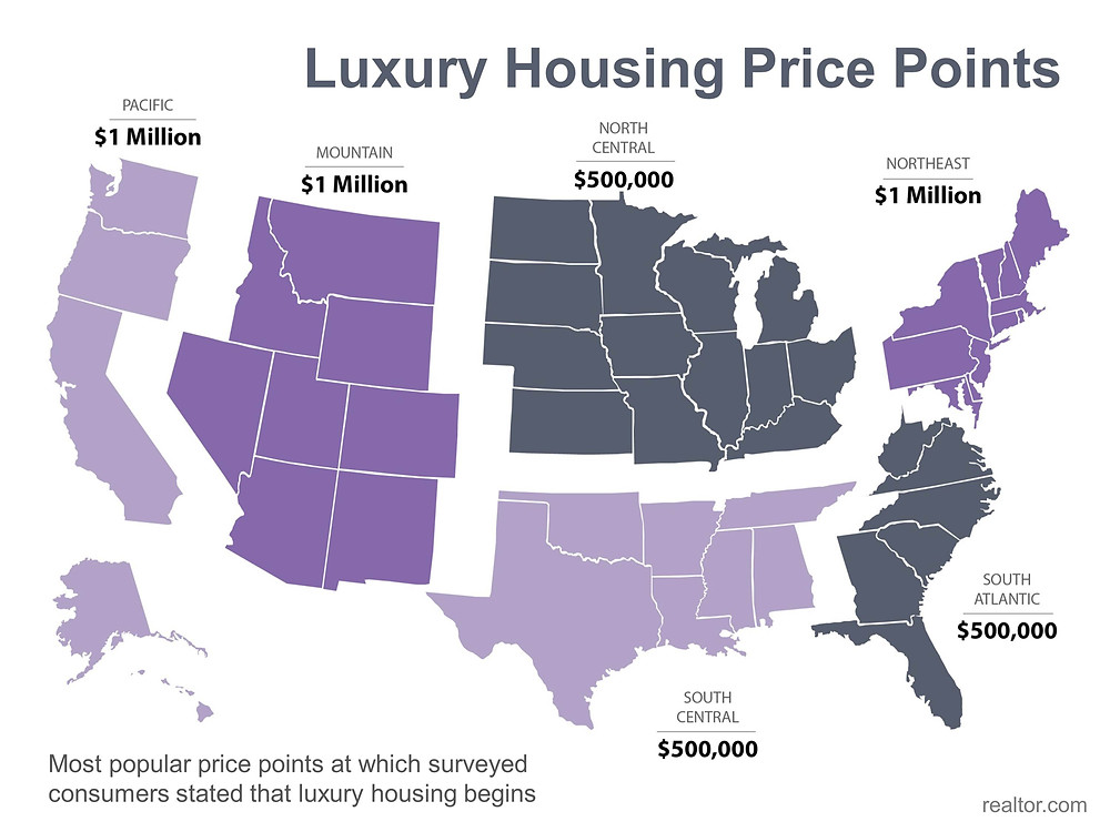 Luxury Housing Price Map