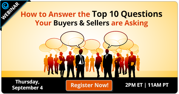 Free Webinar   How to Answer the Top 10 Questions Your Buyers & Sellers are Asking   Keeping Current Matters