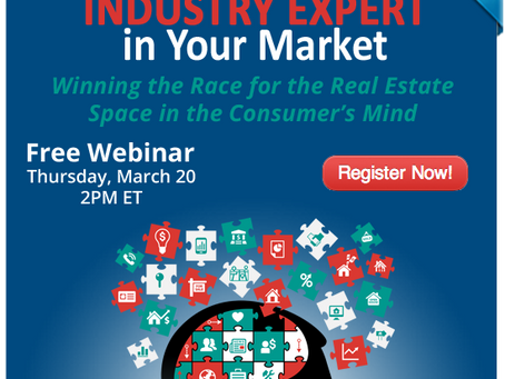 [WEBINAR] Become the INDUSTRY EXPERT in Your Market