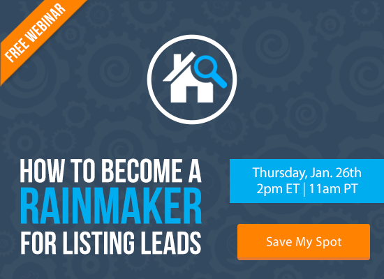 How to Become a Rainmaker for Listing Leads [FREE WEBINAR] | Keeping Current Matters