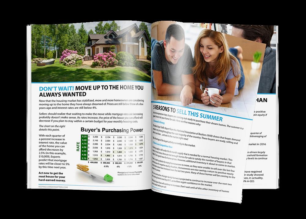 Summer Seller Guide Magazine Spread