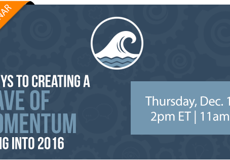 How Do You Create a Wave of Momentum for 2016?