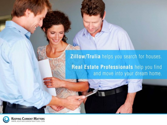 Zillow + Trulia: Why it is NOT the End for Agents | Keeping Current Matters