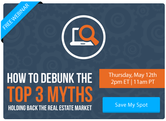 Free Webinar | How To Debunk the Top 3 Myths Holding Back Today's Real Estate Market | Keeping Current Matters