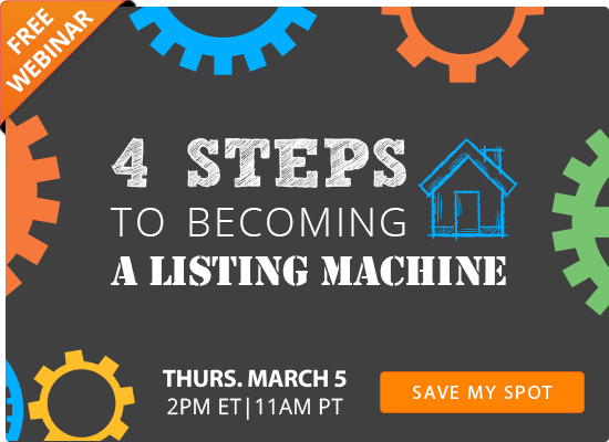 4 Steps to Becoming a Listing Machine [FREE WEBINAR]