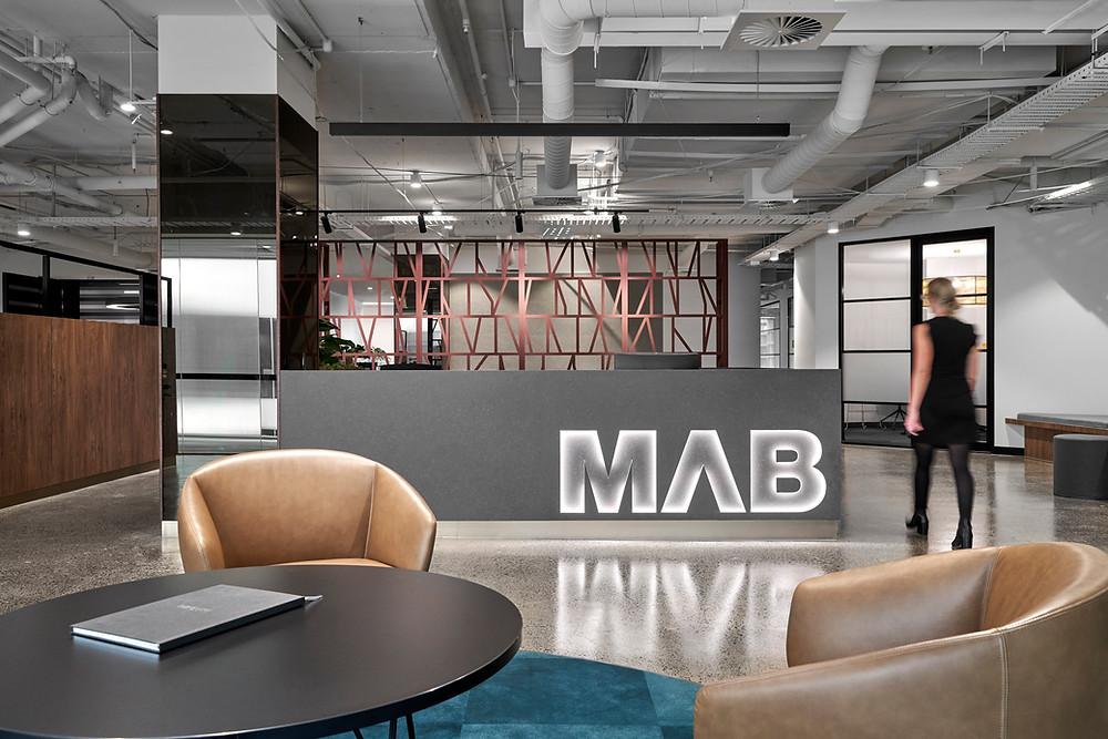 MAB Corporation Reception