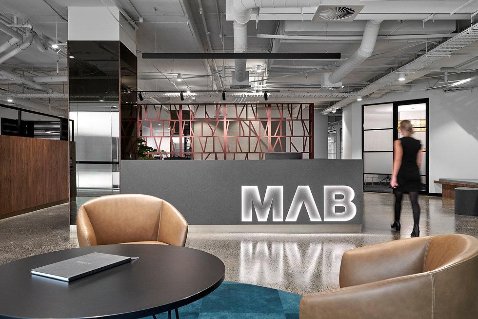 KHID Mab Corporation Head Office Design Reception