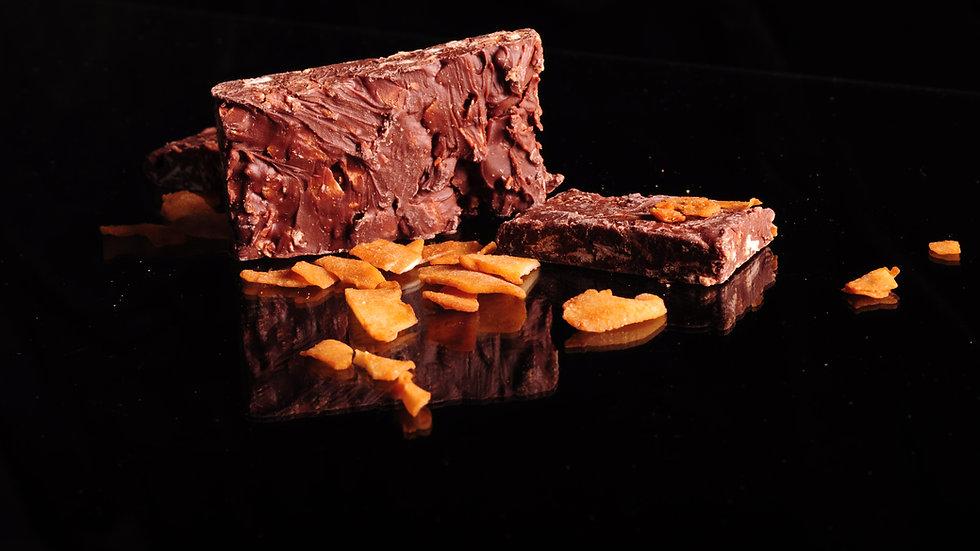 Tablettes aus karamellisiertem Kokos
