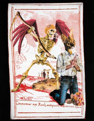 A-Mors Jovencus in: «La morte e il giovane»
