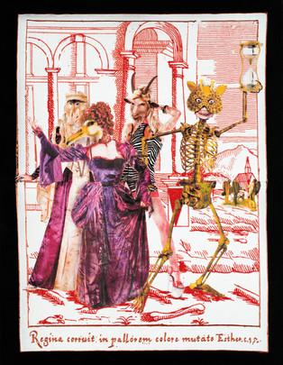 A-Mors Vanus in: «La morte e la vanità»