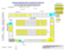 Fargo Holiday TOC Booth Layout Map
