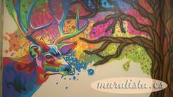 graffiti ciervo